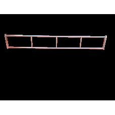 Fence flat roof 4 M